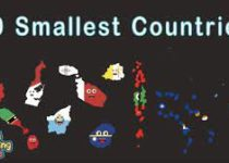 Top 10 smallest country in the world