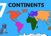 7 continents of the world list