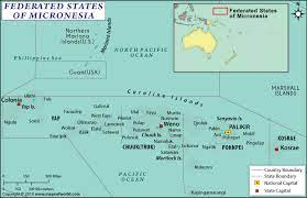 interesting fact about Micronesia map