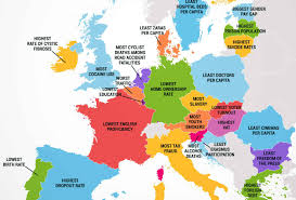 How many countries in Europe continent? facts