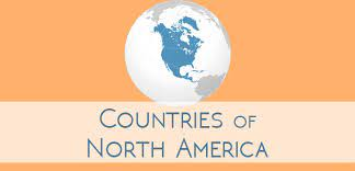 How many countries in continent of the north America?best