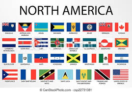 How many countries in continent of the north America?facts